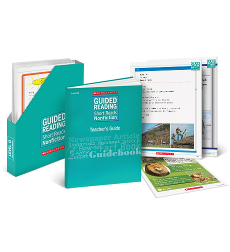 Guided Reading Short Reads Nonfiction Level F