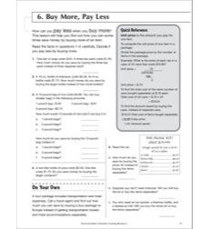 Buy More, Pay Less: Life Skills Practice (Math)