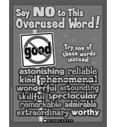 "Say No To This Overused Word: Good"": Word Study Learning Pack"""