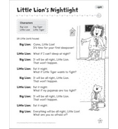 Little Lion's Nightlight (-ight): Word Family Play