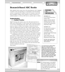 Research-Based ABC Books: Better Than Book Reports