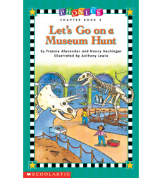 Phonics Chapter Book - Level 1: Let's Go on a Museum Hunt