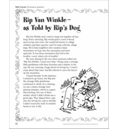 Rip Van Winkle (Choosing an Operation): A Funny Fairy Tale Math Activity