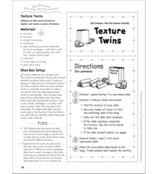 Texture Twins (The Five Senses - Touch): Life Science Shoe Box Learning Center