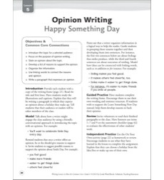 Happy Something Day (Opinion): Grade 4 Common Core Writing Lesson