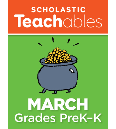 March PreK-K Printable Packet