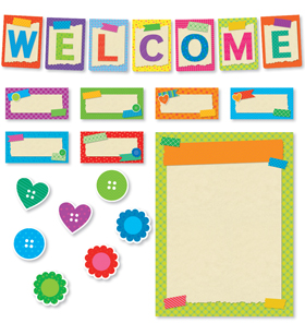 Tape It Up! Welcome Bulletin Board