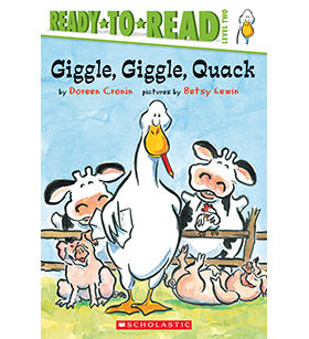 Ready-to-Read - Click Clack Moo: Giggle, Giggle, Quack
