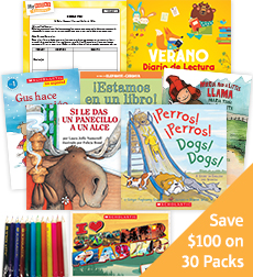 My Books Summer Spanish Grade K Fiction - Classroom Set