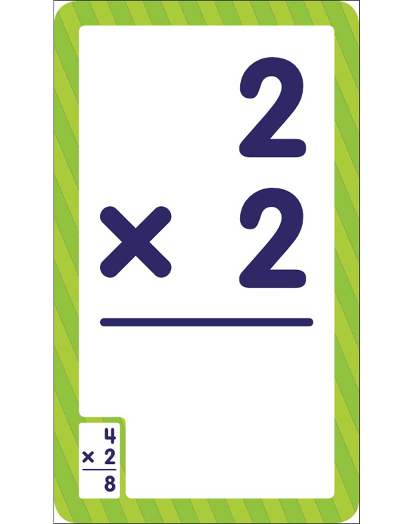 Flash Cards: Multiplication 0 - 12 by