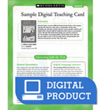 Guided Reading Level J: The Doorbell Rang Teaching Card