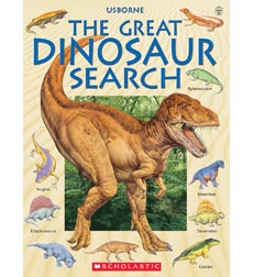 Usborne: The Great Dinosaur Search
