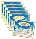 Guided Reading Set: Level E – Five Little Monkeys Jumping on the Bed