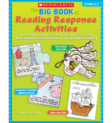 The Big Book of Reading Response Activities: Grades 2–3