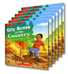 Guided Reading Set: Level E - City Arnie in the Country