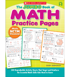 The Jumbo Book of Math Practice Pages
