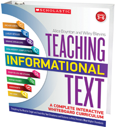 Teaching Informational Text: A Complete Interactive Whiteboard Curriculum