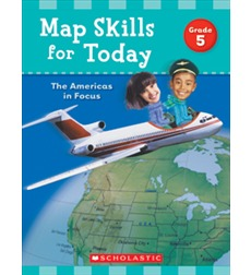 Map Skills for Today: The Americas In Focus - Grade 5