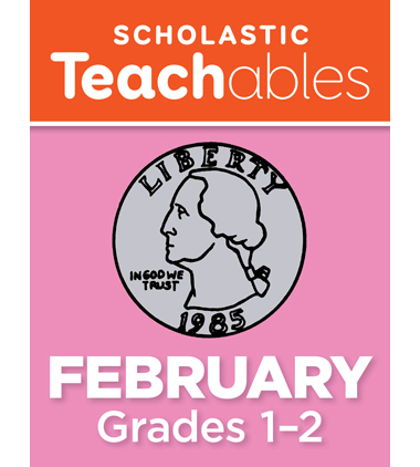 February Grades 1-2 Printable Packet