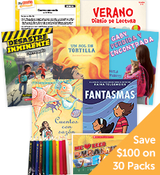 My Books Summer Spanish Fiction Grade 5 - Classroom Set