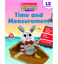 Image of Scholastic Learning Express Level 2: Time and Measurement