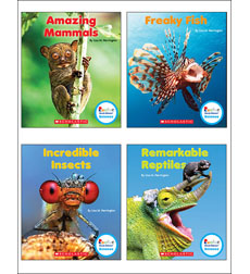 Rookie Read-About Science: Strange Animals: Set