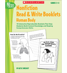 Nonfiction Read & Write Booklets: Human Body