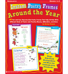 Instant Poetry Frames: Around the Year