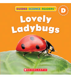 Guided Science Readers: Seasons-Level D: Lovely Ladybugs
