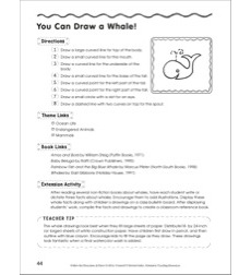 Draw a Whale in 8 Steps: Follow the Directions