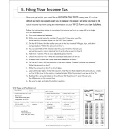Filing Your Income Tax: Life Skills Practice (Math)
