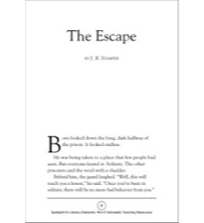 The Escape by J. B.. Stamper (Plot): Spotlight On Literary Elements