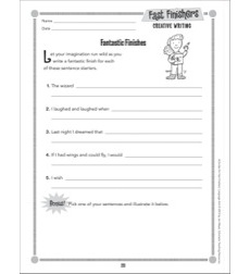 Fantastic Finishes (Creative Writing): Fast Finishers - Grades 2-3