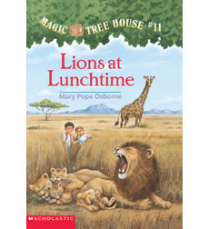 Magic Tree House: #11 Lions at Lunchtime