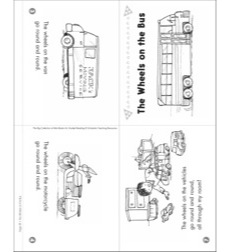 The Wheels on the Bus: Mini-Book for Guided Reading (Level B)