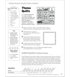 Theme Quilts: Social Studies Activity