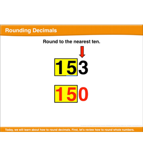 Rounding Decimals: Math Lesson