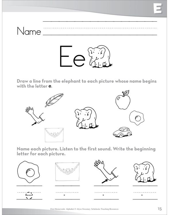 E homework
