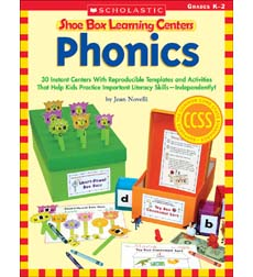 Shoe Box Learning Centers: Phonics