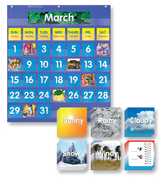 Pocket Chart Calendar Set