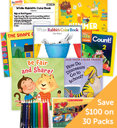My Books Summer Grade PreK School Readiness - Classroom Set