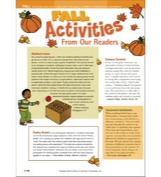 Fall Activities: Teaching With the Best of Instructor