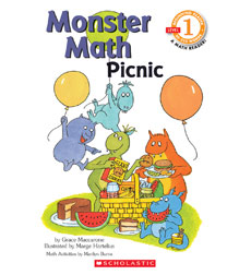 Scholastic Reader! Math Level 1: Monster Math Picnic