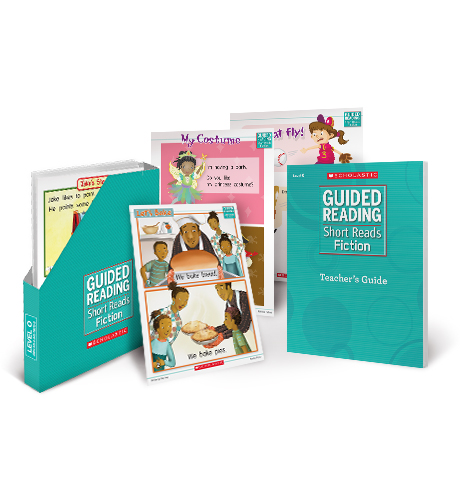 Guided Reading Short Reads Fiction Grade K (Levels A-D)