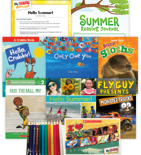 My Books Summer Grade 1 Fiction-Nonfiction Pack