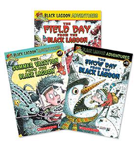 Black Lagoon Adventure Chapter Books Grades 2 3