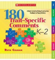 180 Trait-Specific Comments: Grades K-2