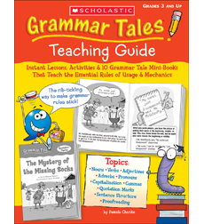 Grammar tales teaching guide | adverb | adjective.