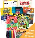 Summer Grade 4 Fiction Classroom Set