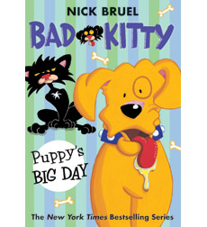 Bad Kitty Chapter Book: Puppy's Big Day